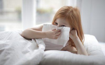 Alergias en niños pequeños